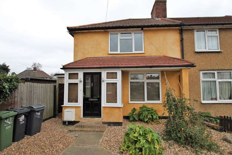 3 Bedrooms End Of Terrace House for sale in Standfied Gardens, Dagenham, Essex, RM10 8JS