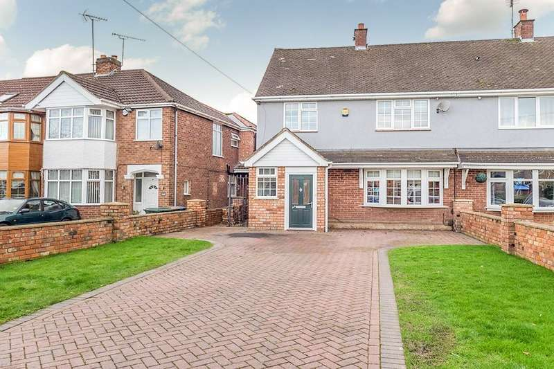 3 Bedrooms Semi Detached House for sale in Hipswell Highway, Coventry, CV2