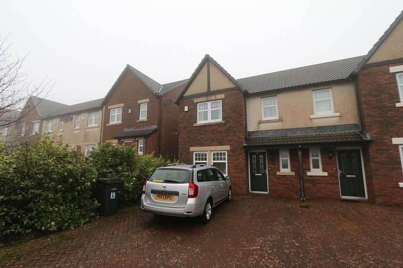 3 Bedrooms Semi Detached House for sale in Lingla Gardens, Frizington, Cumbria, CA26 3AL