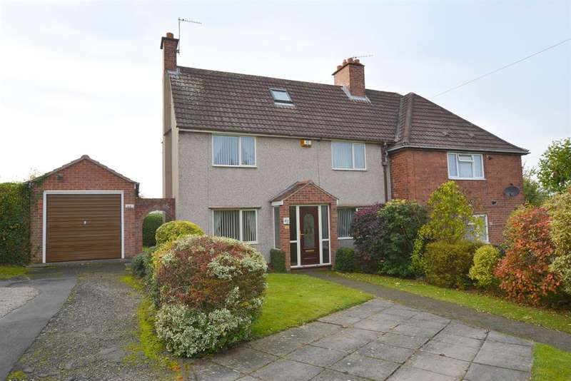 3 Bedrooms Semi Detached House for sale in Hunloke Avenue, Chesterfield, S40 2PA