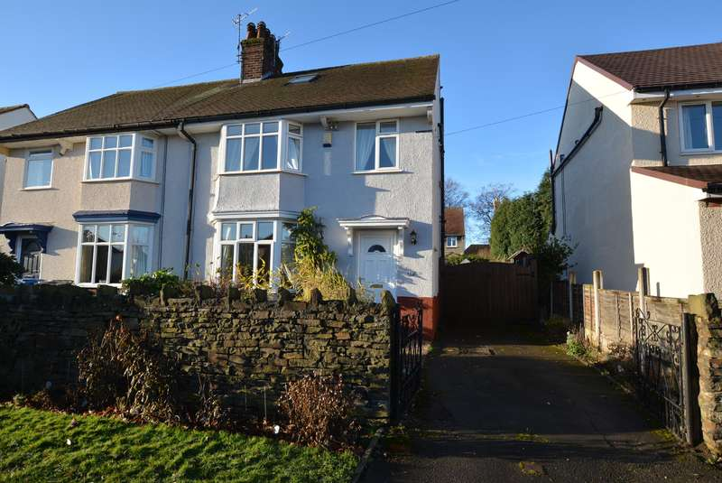 3 Bedrooms Semi Detached House for sale in Mansfeldt Road, Newbold, Chesterfield, S41