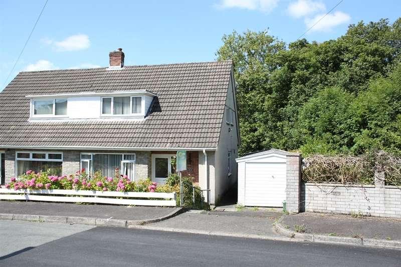 3 Bedrooms Semi Detached House for sale in Lon Catwg, Gellinudd, Swansea