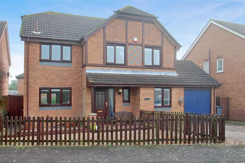 4 Bedrooms Detached House for sale in Chequers, Through Jollys, Grange Farm, Kesgrave, Ipswich