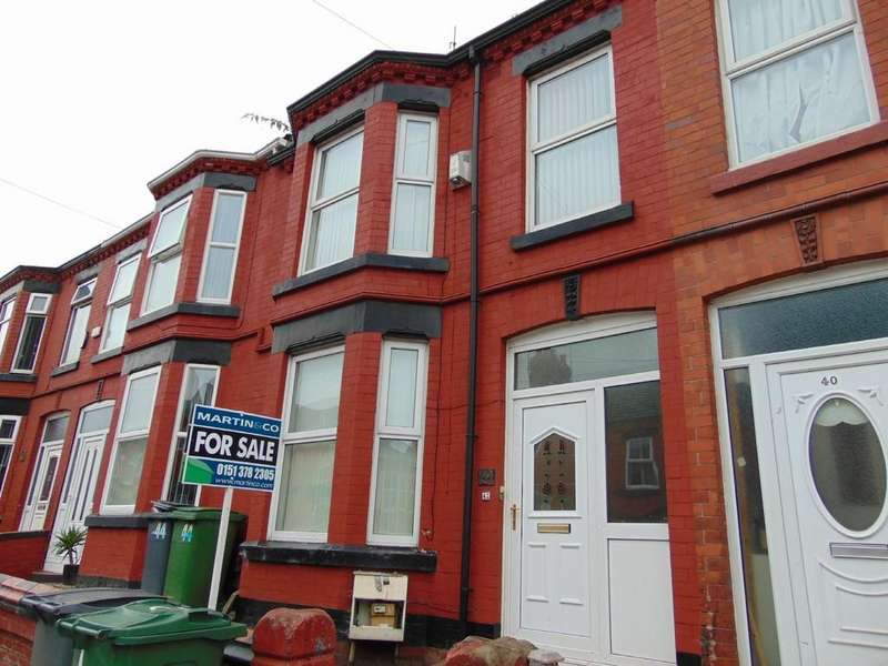 3 Bedrooms Terraced House for sale in Raffles Road, Birkenhead