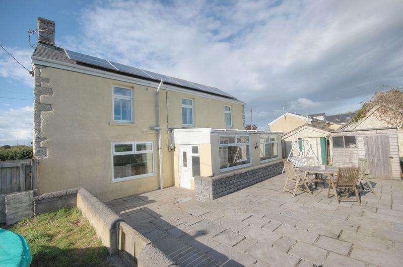 3 Bedrooms Detached House for sale in Mount Pleasant House, Llanmaes, Llantwit Major, CF61 2XR