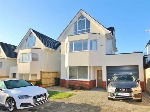4 Bedrooms Detached House for sale in Gorse Hill Road, Oakdale, POOLE, Dorset