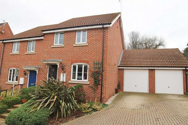 3 Bedrooms Semi Detached House for sale in Crutchley Wood, Bracknell, Berkshire