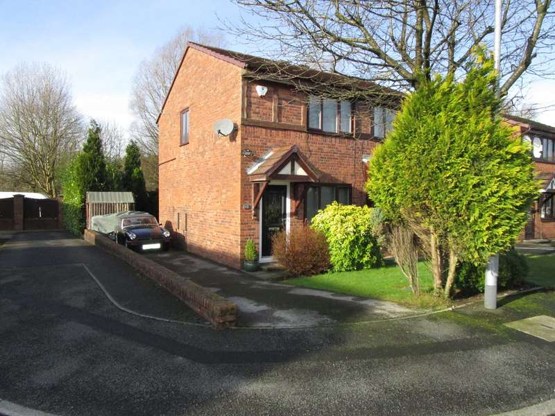 2 Bedrooms Semi Detached House for sale in Crossfield Close, Shaw
