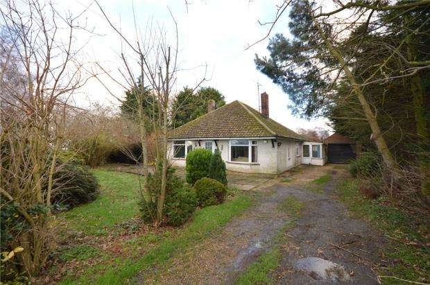 3 Bedrooms Detached Bungalow for sale in Hadley, The Hollow, Ramsey
