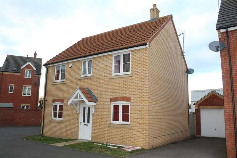 4 Bedrooms Detached House for sale in Whitby Avenue, Eye, Peterborough