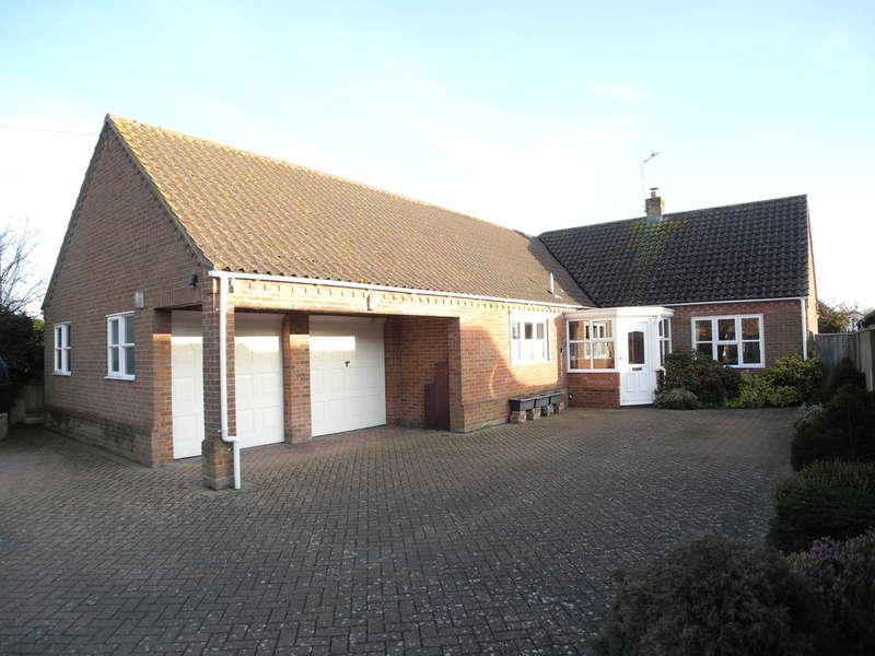 3 Bedrooms Detached Bungalow for sale in Chapel Road, Mutford