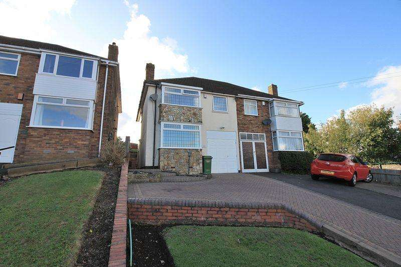 3 Bedrooms Semi Detached House for sale in Hilltop Road, DY2 7EZ