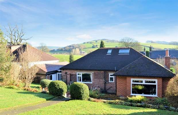 2 Bedrooms Detached Bungalow for sale in Shrigley Road, Bollington, Macclesfield, Cheshire