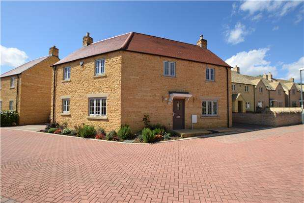 4 Bedrooms Detached House for sale in Jubilee Mews, Andoversford, Cheltenham, Glos, GL54 4AZ