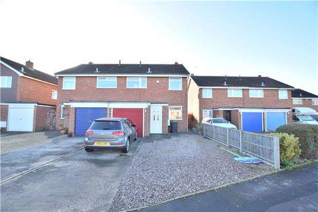 3 Bedrooms Semi Detached House for sale in Brionne Way, Longlevens, GLOUCESTER, GL2 0TW