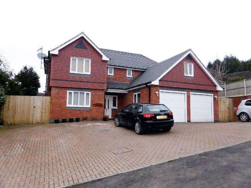 5 Bedrooms Detached House for sale in Cheddleton Road, Birchall