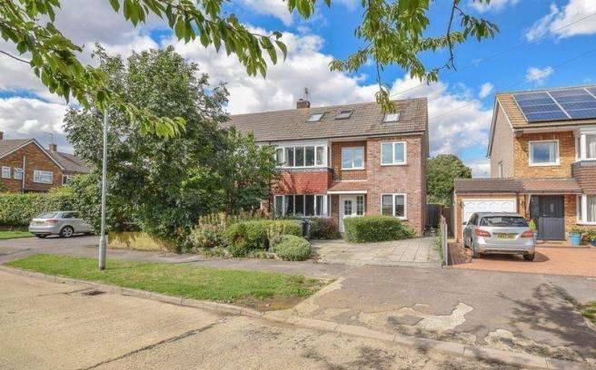 5 Bedrooms Semi Detached House for sale in Elms Road, Ware