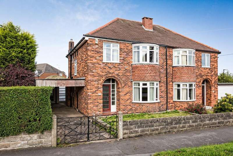 3 Bedrooms Semi Detached House for sale in Ringstead Crescent, Crosspool, Sheffield