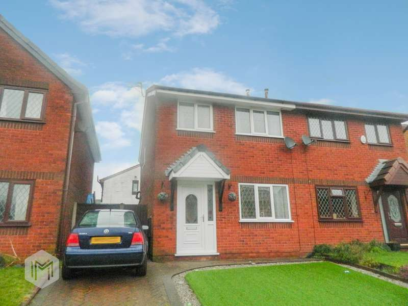 3 Bedrooms Semi Detached House for sale in Greenbrook Close, Bury, BL9
