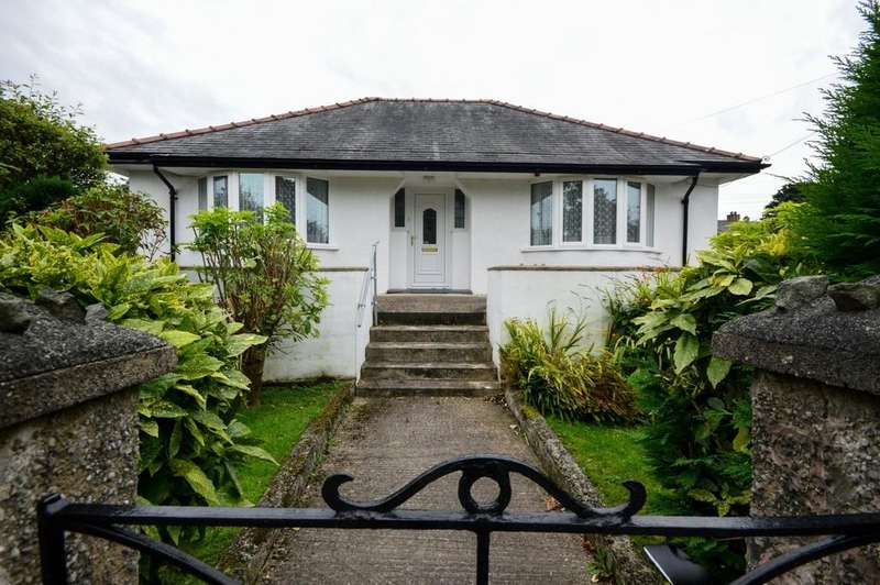 3 Bedrooms Detached Bungalow for sale in Penrhyndeudraeth, Gwynedd, North Wales