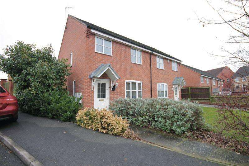 3 Bedrooms Semi Detached House for sale in IVYLEAF WAY, LITTLEOVER