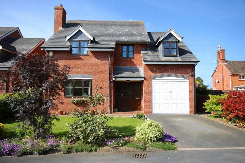 3 Bedrooms Detached House for sale in Forge Courtyard, Canon Frome, Ledbury, HR8