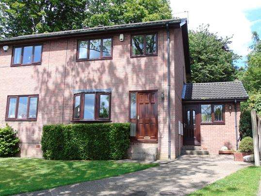 3 Bedrooms Semi Detached House for sale in 3 Kings Croft, Worsbrough Dale, Barnsley, S70 4SX