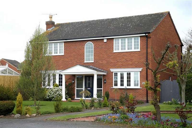 4 Bedrooms Detached House for sale in Narborough Road, Cosby, Leicestershire