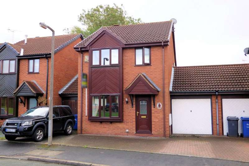 3 Bedrooms Link Detached House for sale in Goodwood Close, Stretton
