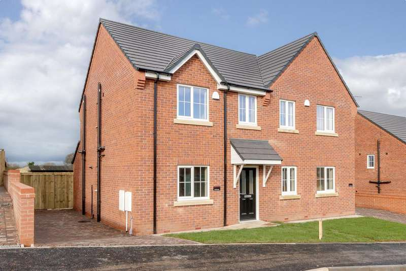 3 Bedrooms Semi Detached House for sale in Wybunbury Cheshire