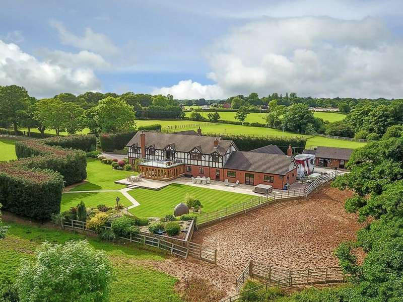 6 Bedrooms Detached House for sale in Sandicroft House, Over Road, Church Minshull, CW5 6EA
