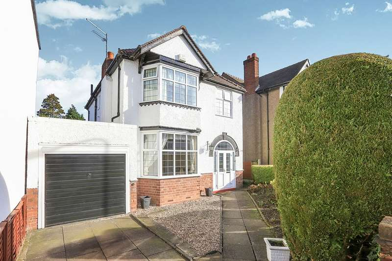 3 Bedrooms Detached House for sale in Osborne Road, Wolverhampton, WV4