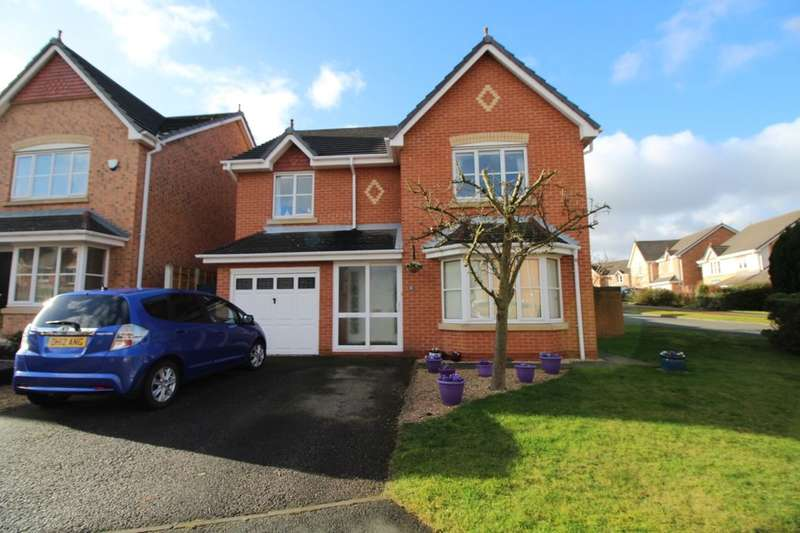 4 Bedrooms Detached House for sale in Trafalgar Close, Northwich, CW9