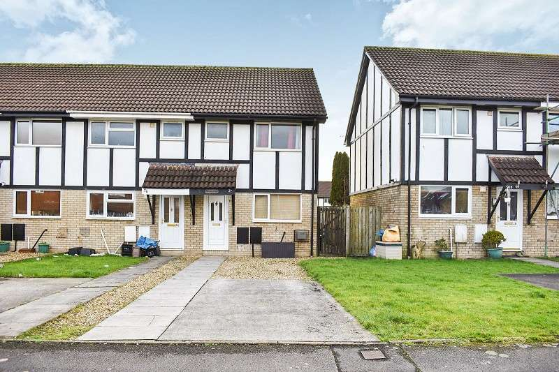 2 Bedrooms End Of Terrace House for sale in Lavender Court, Brackla, Bridgend. CF31 2ND