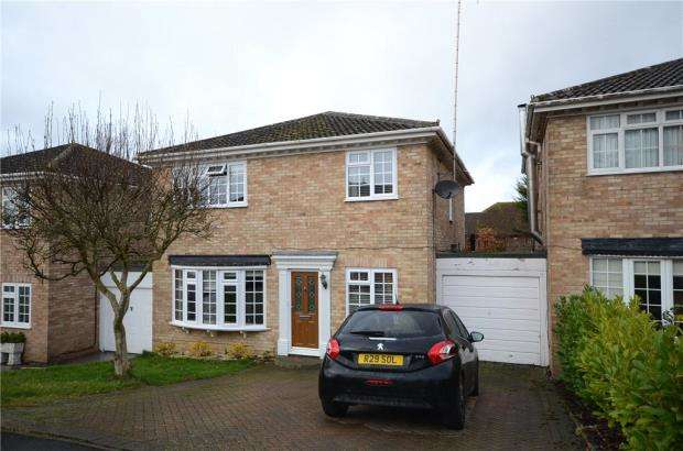 4 Bedrooms Detached House for sale in Mccarthy Way, Finchampstead, Wokingham