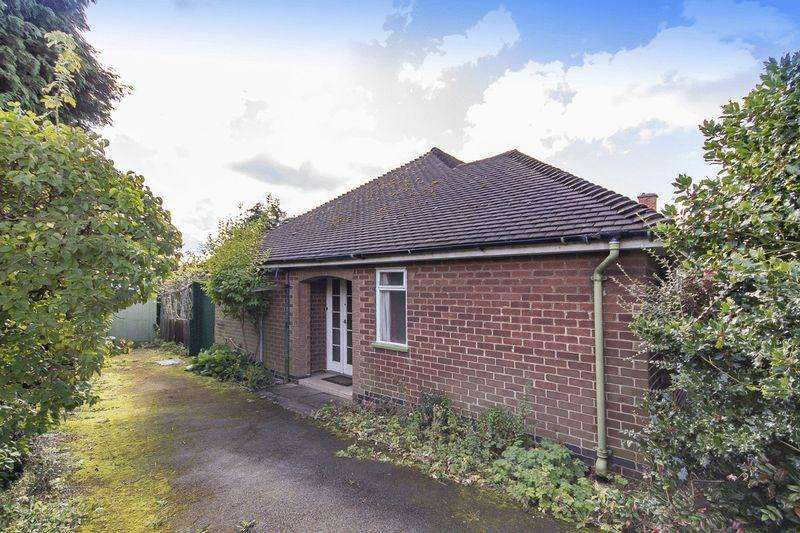 2 Bedrooms Detached Bungalow for sale in BLAGREAVES AVENUE, LITTLEOVER.