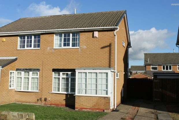 2 Bedrooms Semi Detached House for sale in Meath Way, Hunters Hill, Guisborough