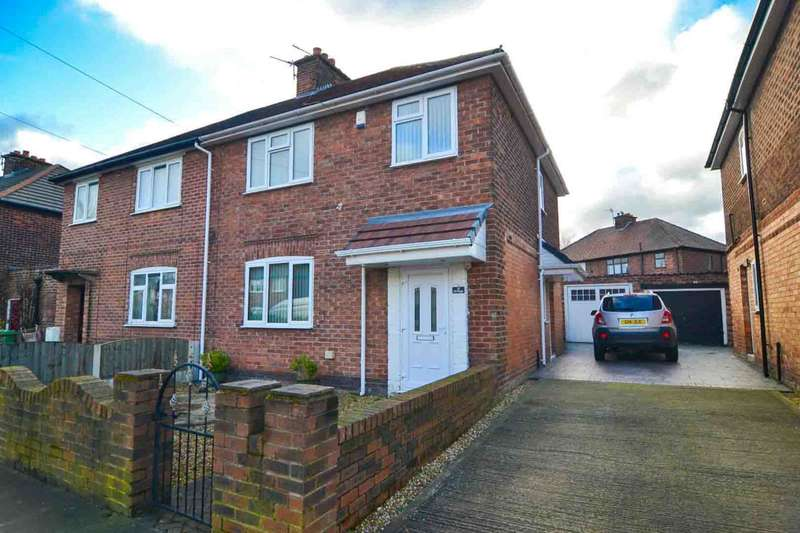 3 Bedrooms Semi Detached House for sale in Elston Avenue, Newton Le Willows
