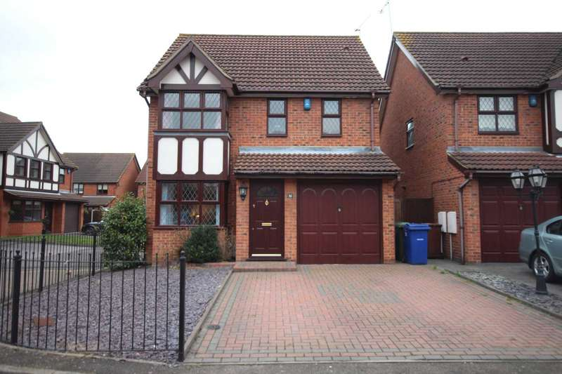 3 Bedrooms Detached House for sale in Gilbert Road, Chafford Hundred