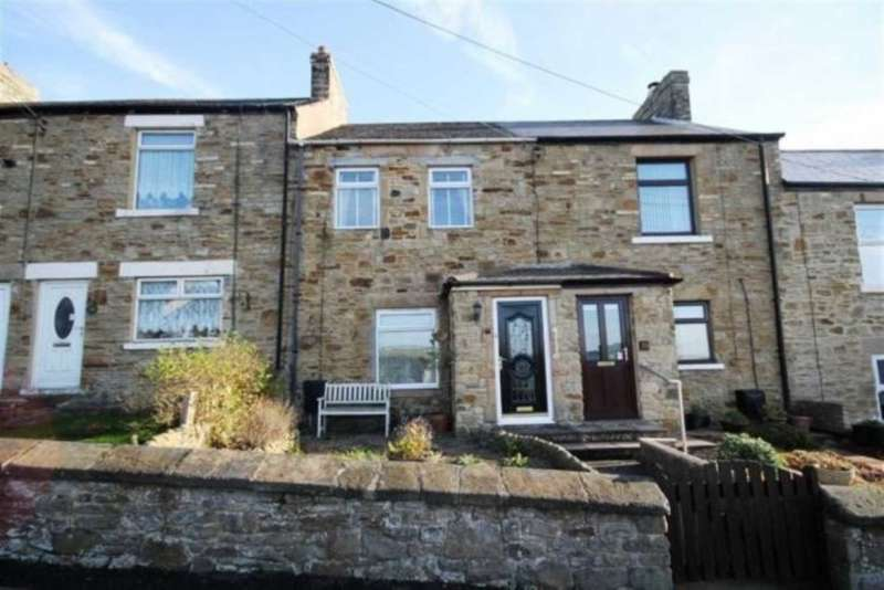 2 Bedrooms Terraced House for rent in West Terrace, Crook