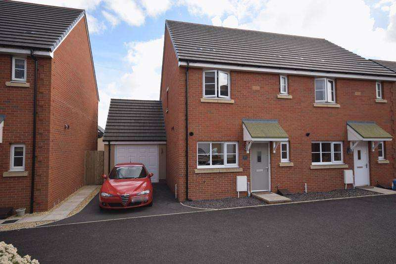 3 Bedrooms Semi Detached House for sale in 19 Lon Yr Ardd, Coity, Bridgend