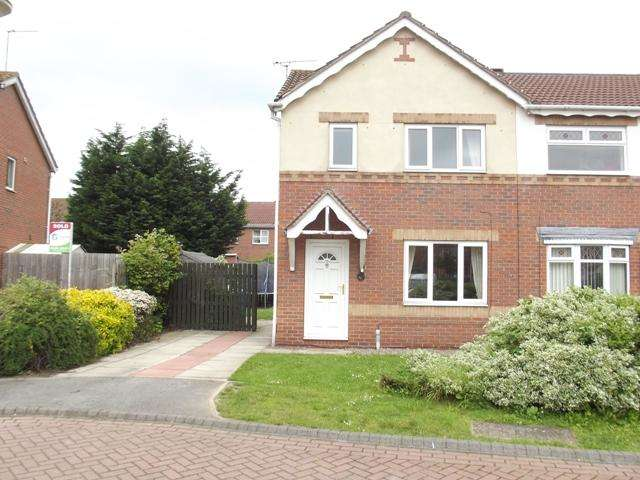 3 Bedrooms Semi Detached House for rent in Bridgegate Drive, Victoria Dock, Hull, HU9 1SY