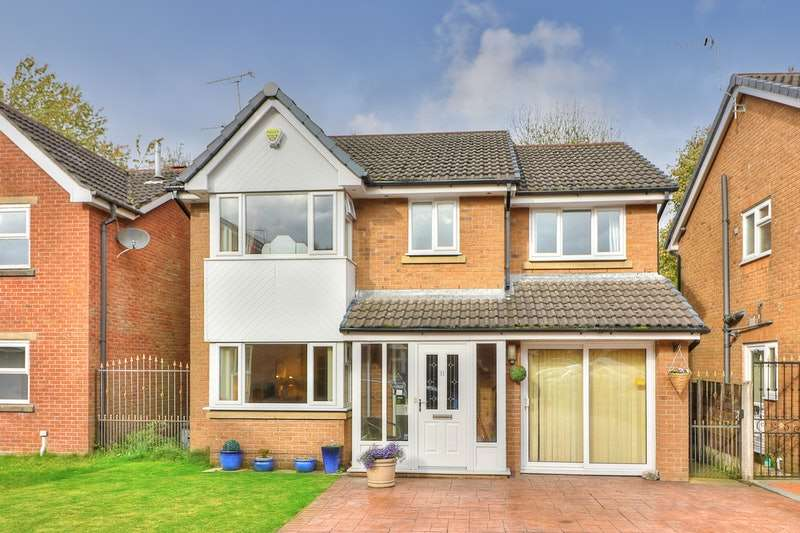 4 Bedrooms Detached House for sale in Convent Grove, Rochdale, Greater Manchester, OL11