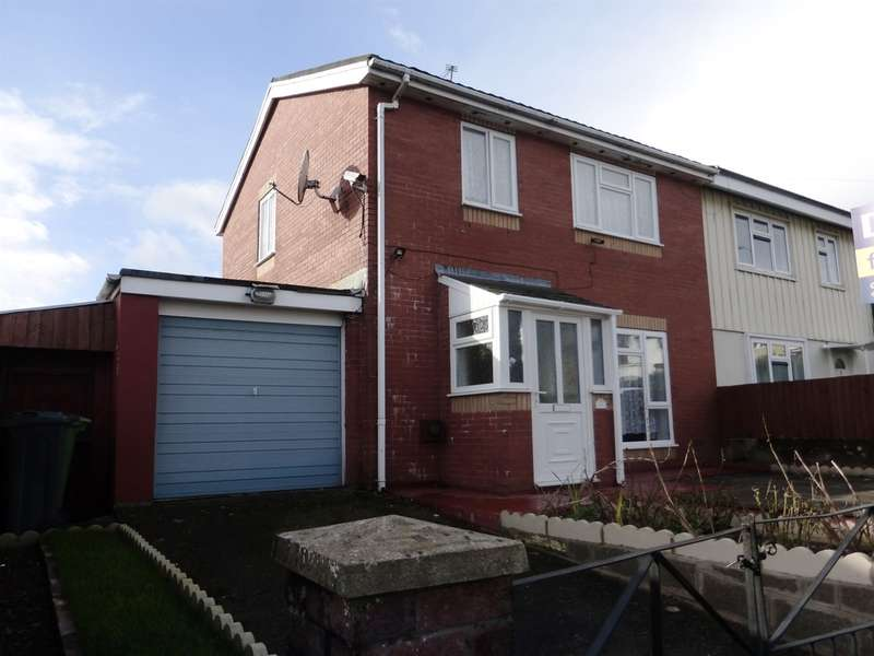 3 Bedrooms Semi Detached House for sale in Rhossilli Road, Rumney, CARDIFF