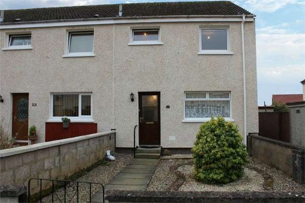 2 Bedrooms Semi Detached House for sale in Threewells Place, Forfar, Angus