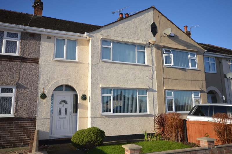 3 Bedrooms Terraced House for sale in Fairway North, Bromborough
