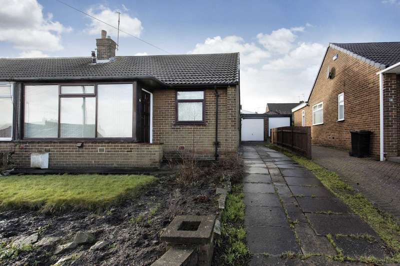 2 Bedrooms Semi Detached Bungalow for sale in 6 Croft House Gardens, Morley, Leeds, LS27 8NY