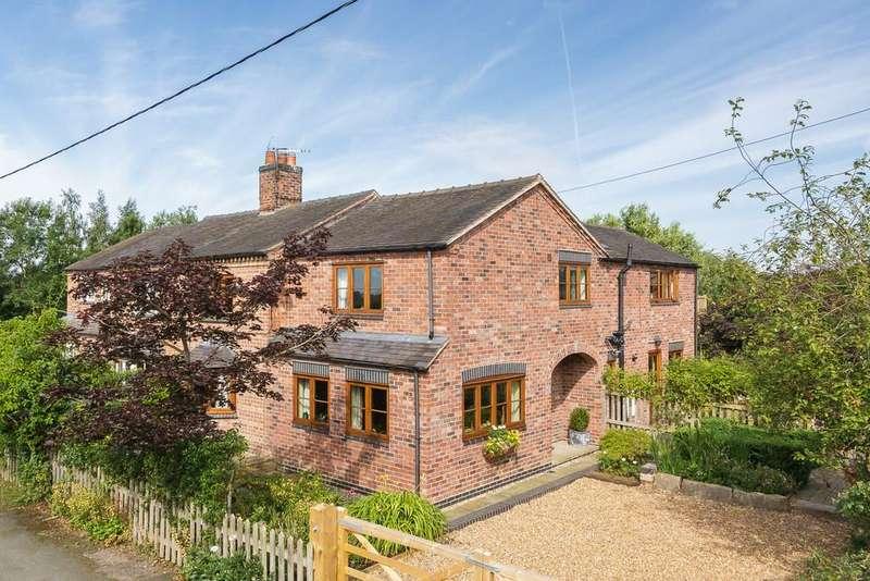 4 Bedrooms Semi Detached House for sale in Aston Juxta Mondrum, Cheshire