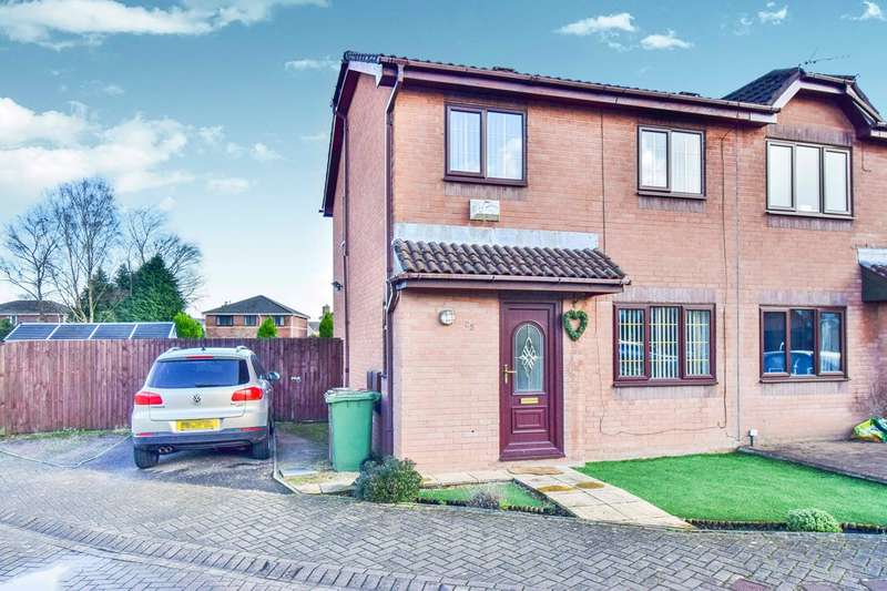 3 Bedrooms Semi Detached House for sale in Heol Y Wern, Caerphilly, CF83