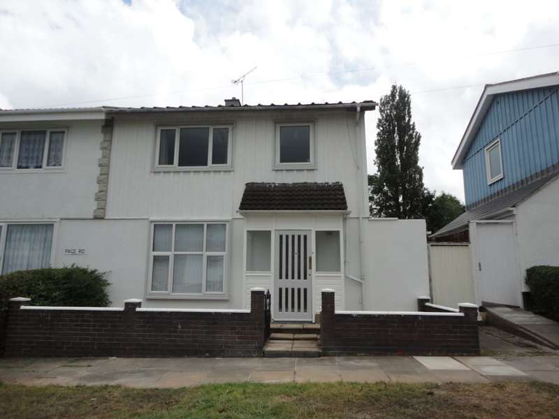 4 Bedrooms Semi Detached House for sale in Page Road, Canley, Coventry